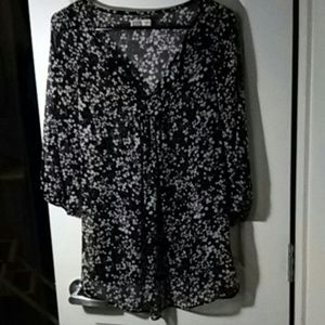 Sheer Blouse, Old Navy, XS / S, maternity.